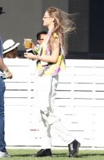 Gigi Hadid At Coachella Valley Music and Arts Festival in Indio