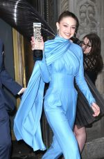 Gigi Hadid Outside the Variety Power of Women luncheon in NYC