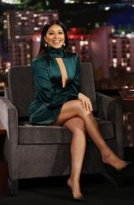 Gina Rodriguez At Jimmy Kimmel Live! in Los Angeles