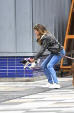 Gisele Bündchen Out with her dogs in NYC