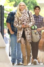 Gwen Stefani Spotted out and about in LA