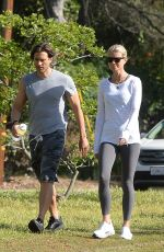 Gwyneth Paltrow and Brad Falchuk are spotted on a hike in LA