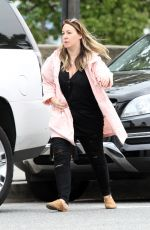 Haylie Duff In pink out and about in LA
