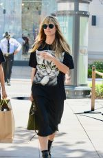 Heidi Klum Shops at The Grove in Los Angeles