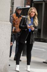 Hilary Duff On the set of Younger in NYC