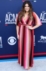 Hillary Scott At 54th Academy of Country Music Awards at MGM Grand Garden Arena in Las Vegas