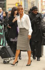 Holly Robinson Peete At the Build studio in NYC