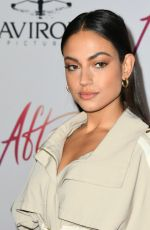 Inanna Sarkis At premiere of Aviron Pictures