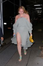 Iskra Lawrence Arriving to her hotel in NYC