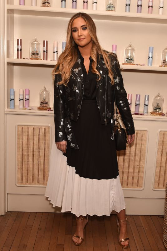 Jacqueline Jossa At Miss So...? Launch at Mortimer House, Fitzrovia in London
