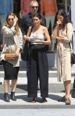 Jamie-Lynn Sigler With friends after lunch in Beverly Hills