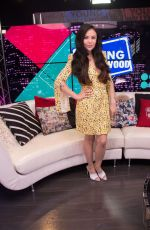 Janel Parrish At Young Hollywood Studio in Los Angeles