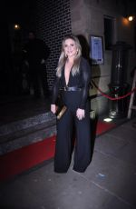 Jazmine Franks Arriving At Impossible Bar Manchester
