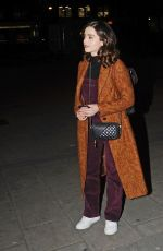 Jenna-Louise Coleman Leaving rehearsals for All My Sons at the Old Vic theatre in London