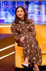 Jenna-Louise Coleman On The Jonathan Ross Show in London