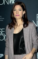 Jennifer Carpenter At the premiere of the FX Series