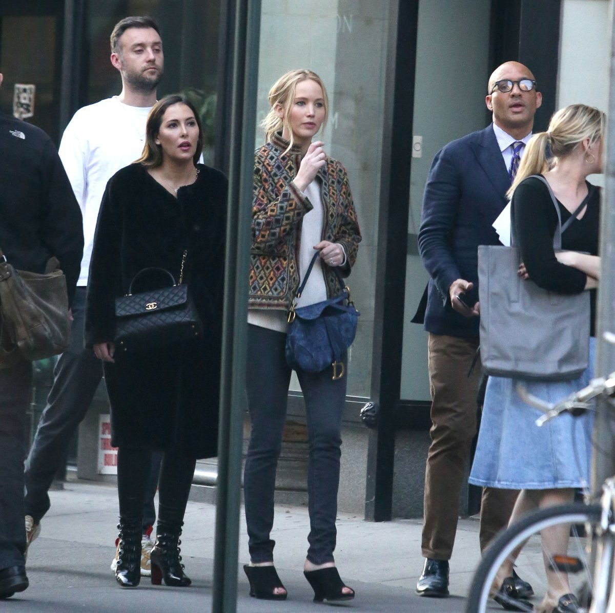 Jennifer Lawrence and Cooke Maroney are apartment shopping