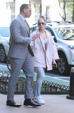 Jennifer Lopez and Alex Rodriguez out in NYC