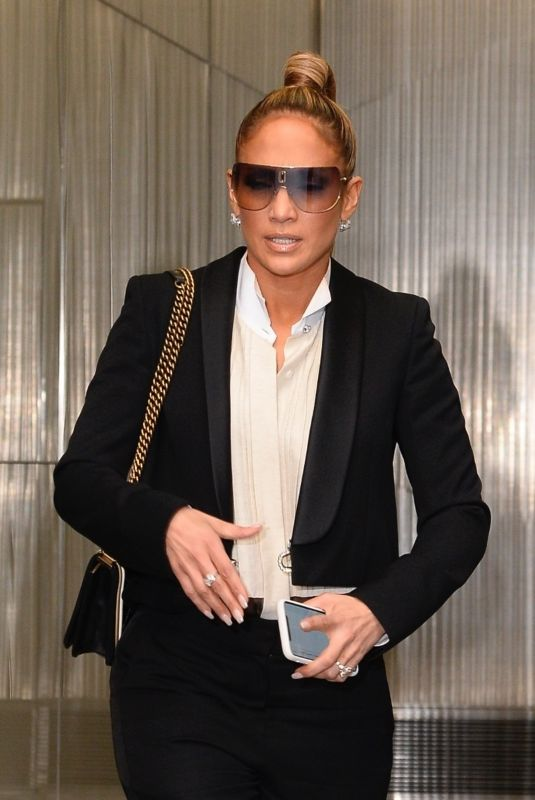 Jennifer Lopez Leaving Sirius Radio in NYC