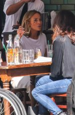 Jennifer Lopez Out for a lunch date with her sister in NYC