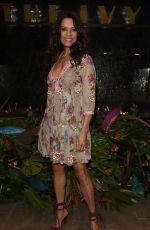 Jenny Powell At The Ivy Manchester Roof Top Re Launching A Circus Party in Manchester