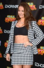 Jess Impiazzi At The Circus Extreme Press Night at Deer Park Richmond in London