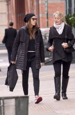 Jessica Biel Out with her mom Kimberly Biel in New York City