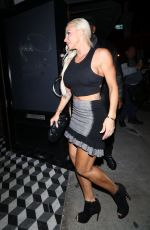 Jessica Canseco Dines at Craig