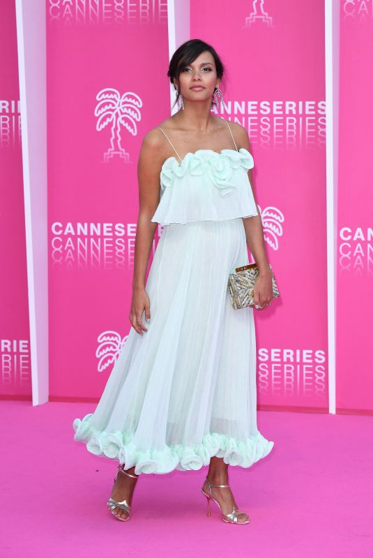 Jessica Lucas At Day five of the 2nd Canneseries International Series Festival in Cannes, France