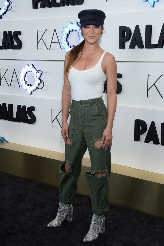 Jessica Szohr At KAOS Grand Opening in Las Vegas