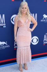 Jessie Jo Dillon At 54th Academy of Country Music Awards at MGM Grand Garden Arena in Las Vegas