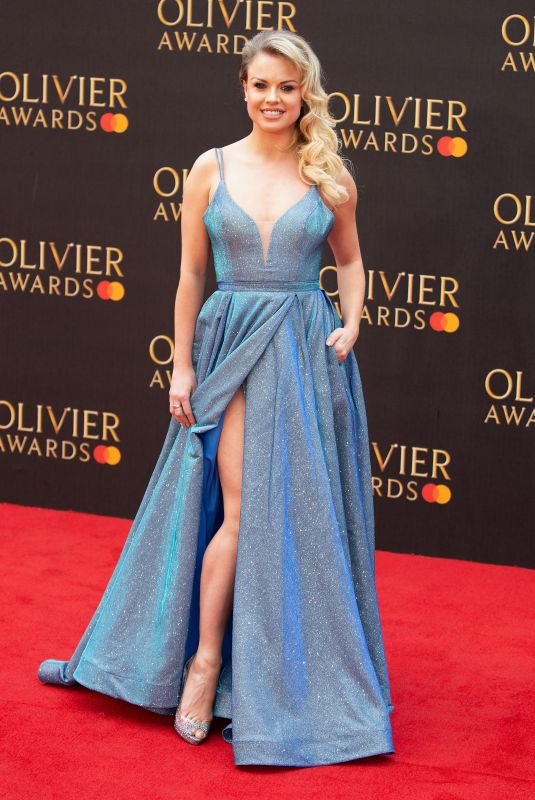 Joanne Clifton At 2019 Laurence Olivier Awards in London