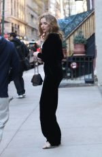 Jodie Comer Leaving The Crosby Street Hotel in New York City