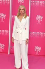 Joely Richardson At Canneseries Cannes International Series festival in Cannes France