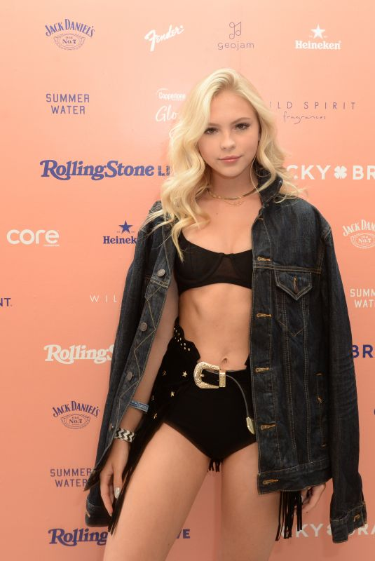 Jordyn Jones At Lucky Brand And Rolling Stone Live Present Desert Jam at ARRIVE Hotel in Palm Springs