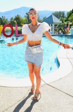 Joy Corrigan Strikes a pose at The Revolve Festival Coachella Party