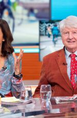 Julia Bradbury At Good Morning Britain TV show in London