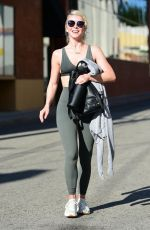Julianne Hough Leaving the gym in Studio City