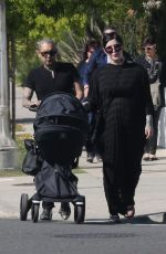 Kat Von D Enjoys a day out with her husband Rafael Reyes and their son Leafar