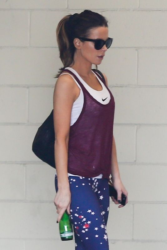 Kate Beckinsale At the gym in LA