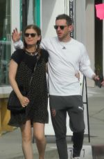 Kate Mara and Jamie Bell enjoy a stroll in L.A.
