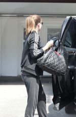 Kate Mara Leaving her workout in West Hollywood