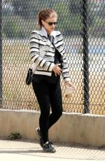 Kate Mara Seen out and about in Los Angeles