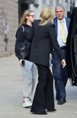 Kate Moss and daughter Lila Grace at JFK airport in New York