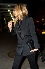 Kate Moss and her daughter Lila seen going out to dinner in New York City