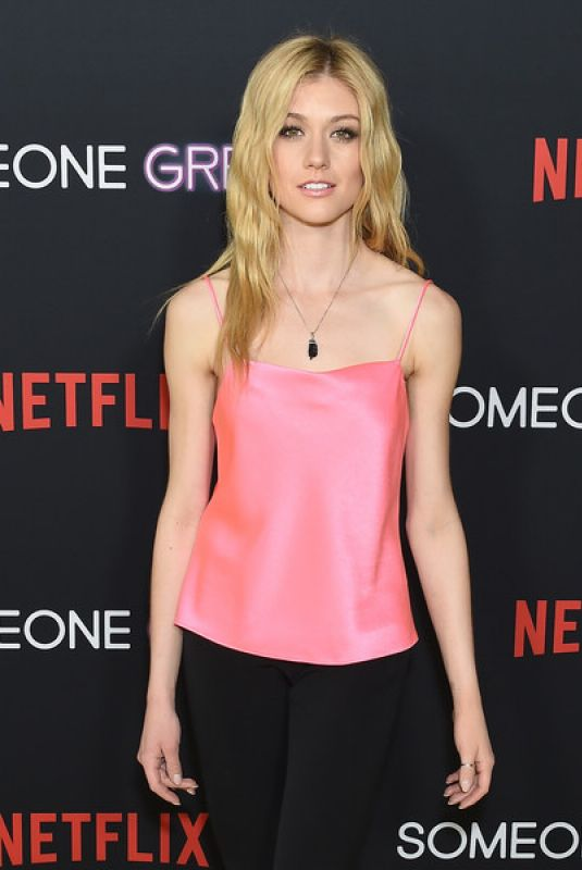 Katherine McNamara At Los Angeles Special Screening of Netflix