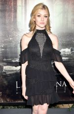 Katherine McNamara At The Curse of La Lllorana Premiere in LA