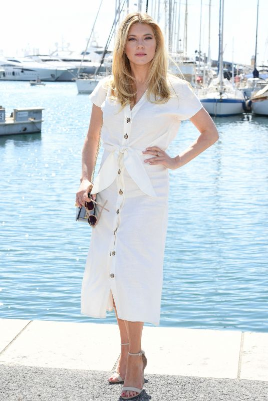 Katheryn Winnick At 2nd Canneseries International Series Festival Day Five in Cannes