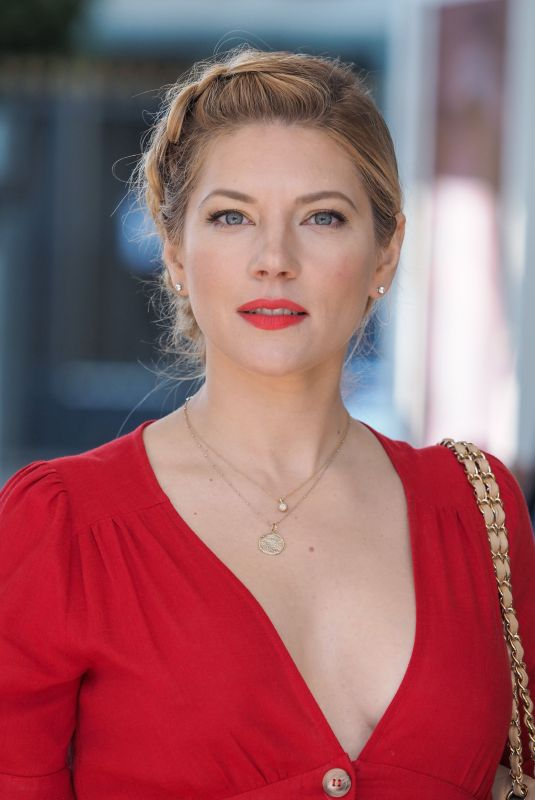 Katheryn Winnick At the Martinez hotel during the 2nd Canneseries International Series Festival - Day 04 in Cannes, France