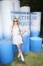 Kathryn Newton At American Express Platinum House in Palm Springs